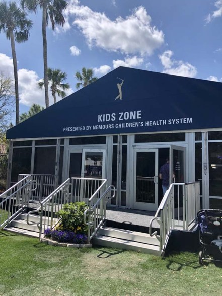 The Kids Zone at TPC