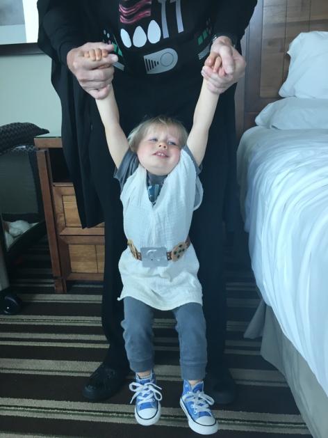 cosplay toddler tantrum
