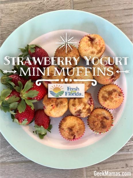 strawberry-yogurt muffin-recipe