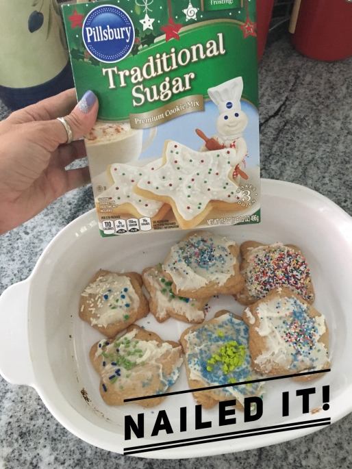 star cookie fail by geekmama.com