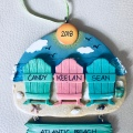 Ornaments with love personalized Christmas ornament