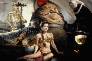 The Original Slave Leia