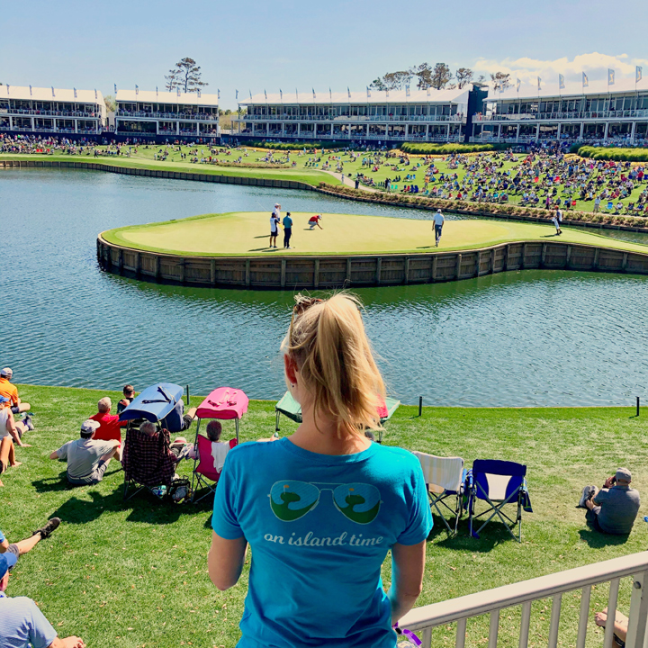 17th hole at The Players Championship