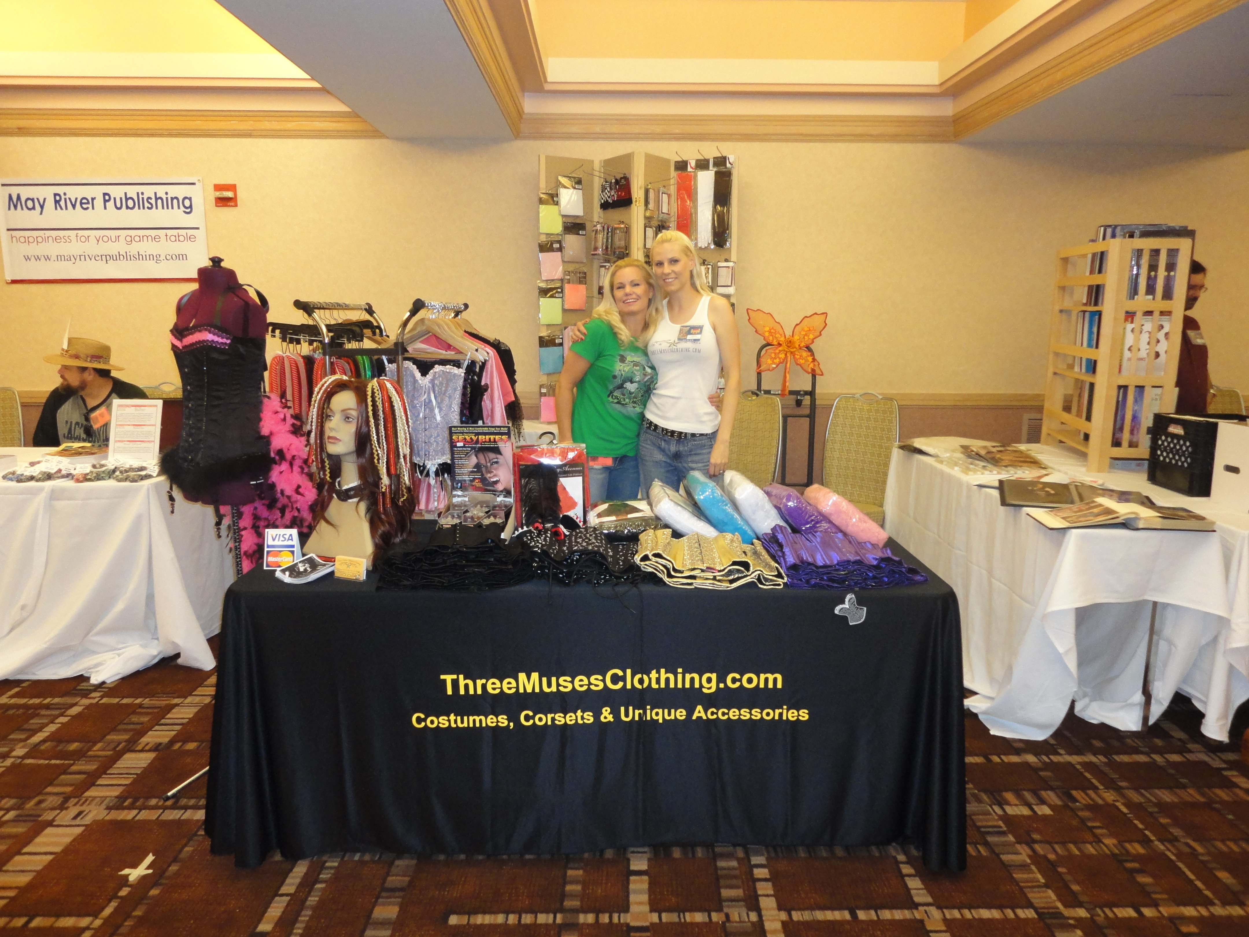 My booth set-up from when I had my shop