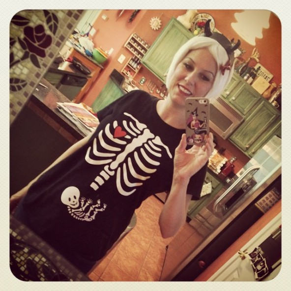 maternity halloween shirt