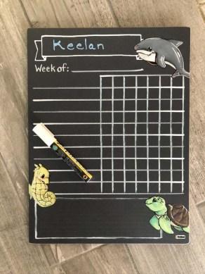 Chalk Chore Chart