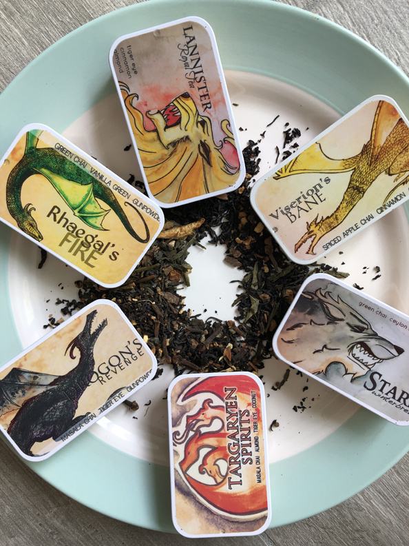 game of thrones tea from adagio