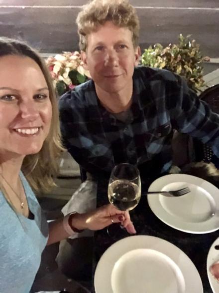 Cheers! Dinner at Venezia