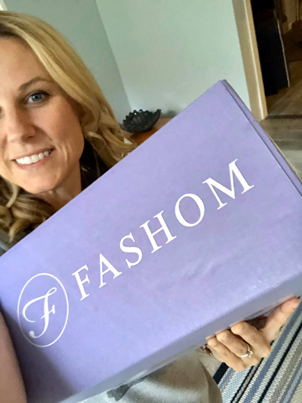 Box from Fashom Styling service