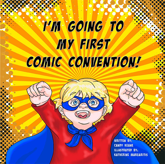 I'm going to my first comic con kids book