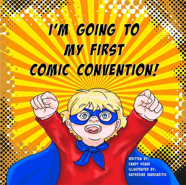 First Comic Con book cover