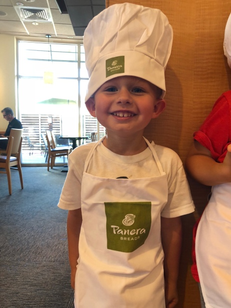 Panera bread baker in training class