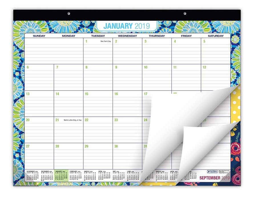 big desk calendar