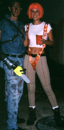 Evil Dead Ash and Leeloo