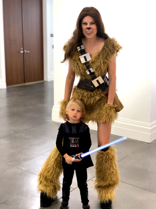 Chewbacca cosplay
