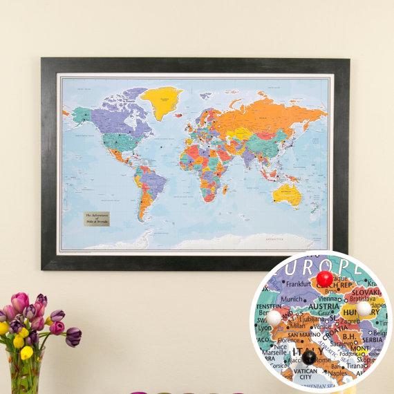 travel map gift idea