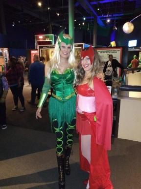 Enchantress & Scarlet Witch