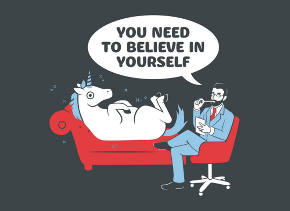unicorn believe in yourself