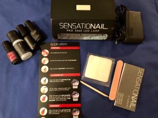 The Sensational gel nail starter kit