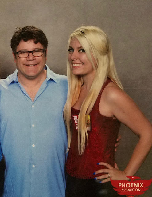 Sean Astin at Comiccon