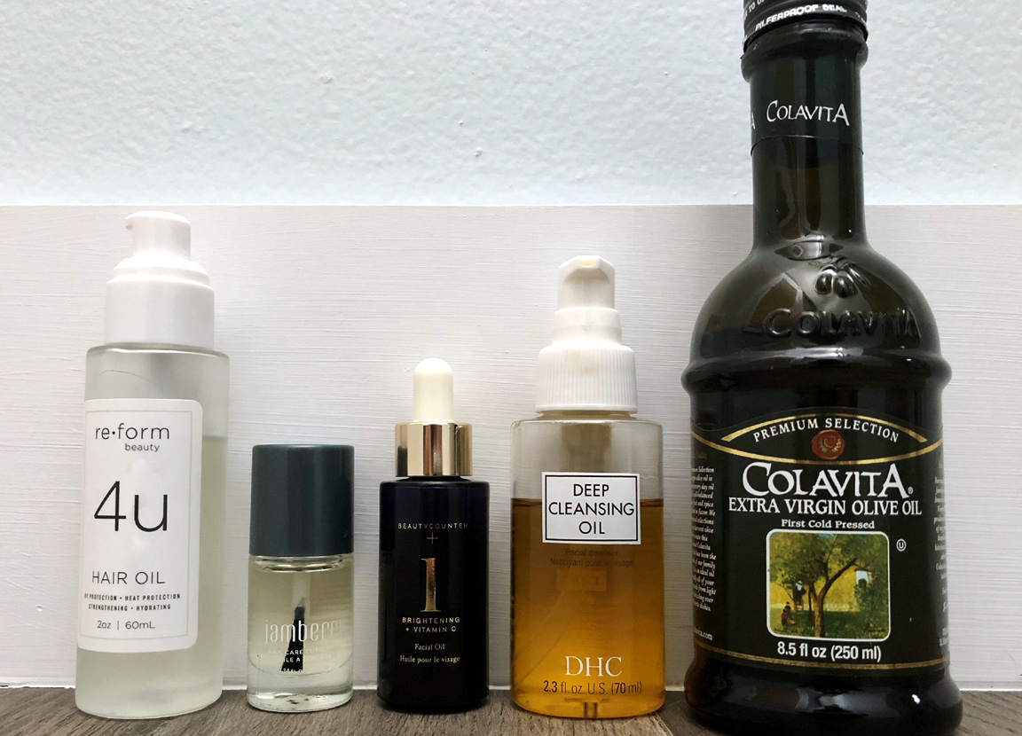 favorite oils for skin and hair