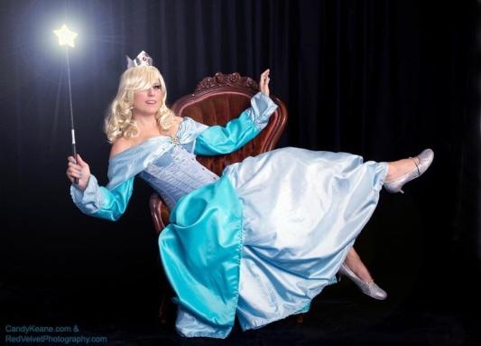 Candy Keane as Rosalina cosplay