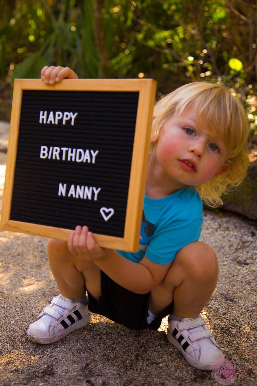 happy birthday on letter board