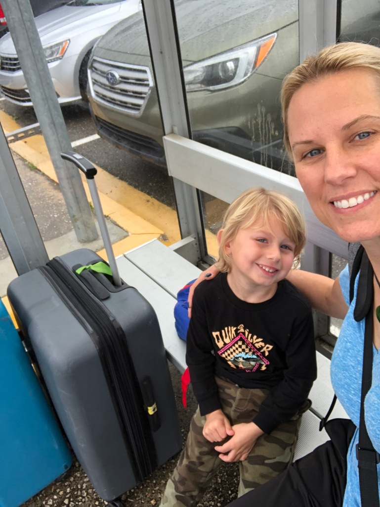 tips for traveling with toddler
