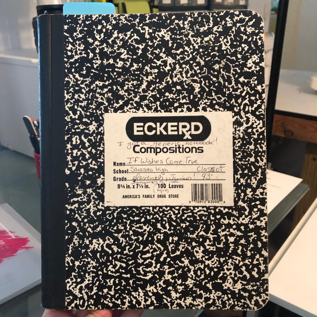 composition notebook journal