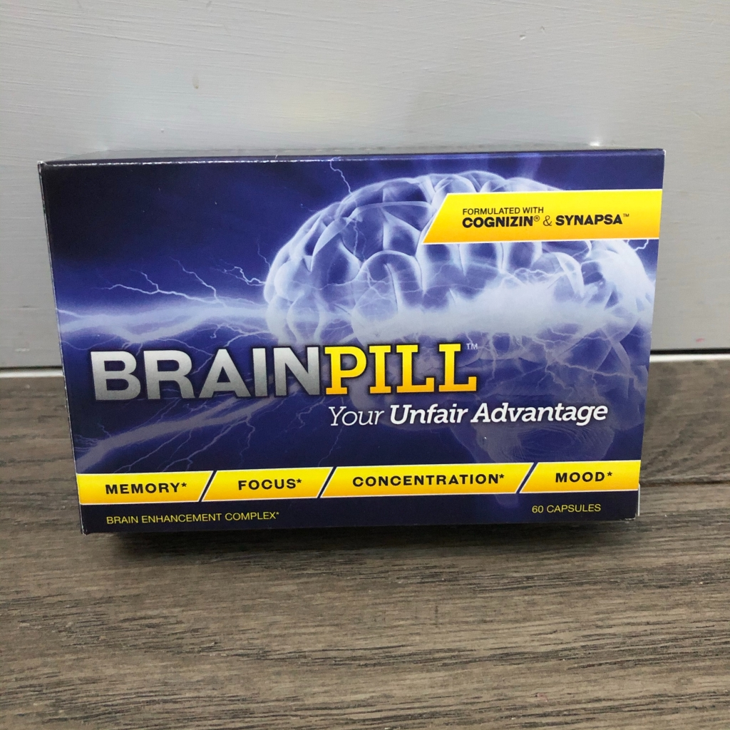 Brain Pill package front