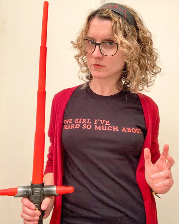 Maddie Morrow Geek of the Week