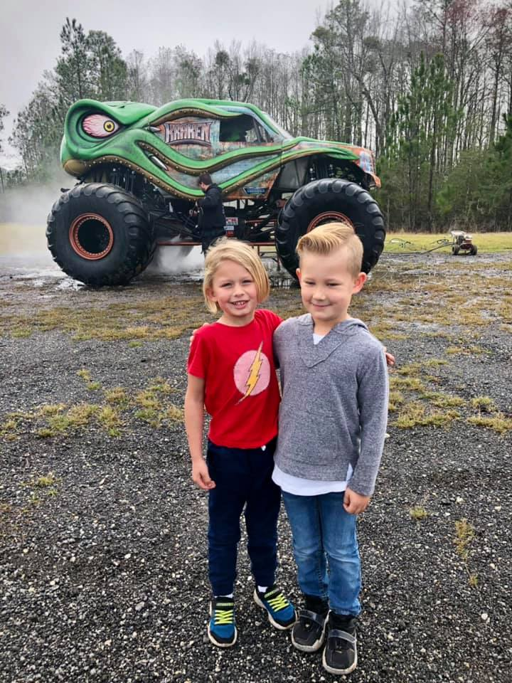 kids at the Monster Truckz cancelled show