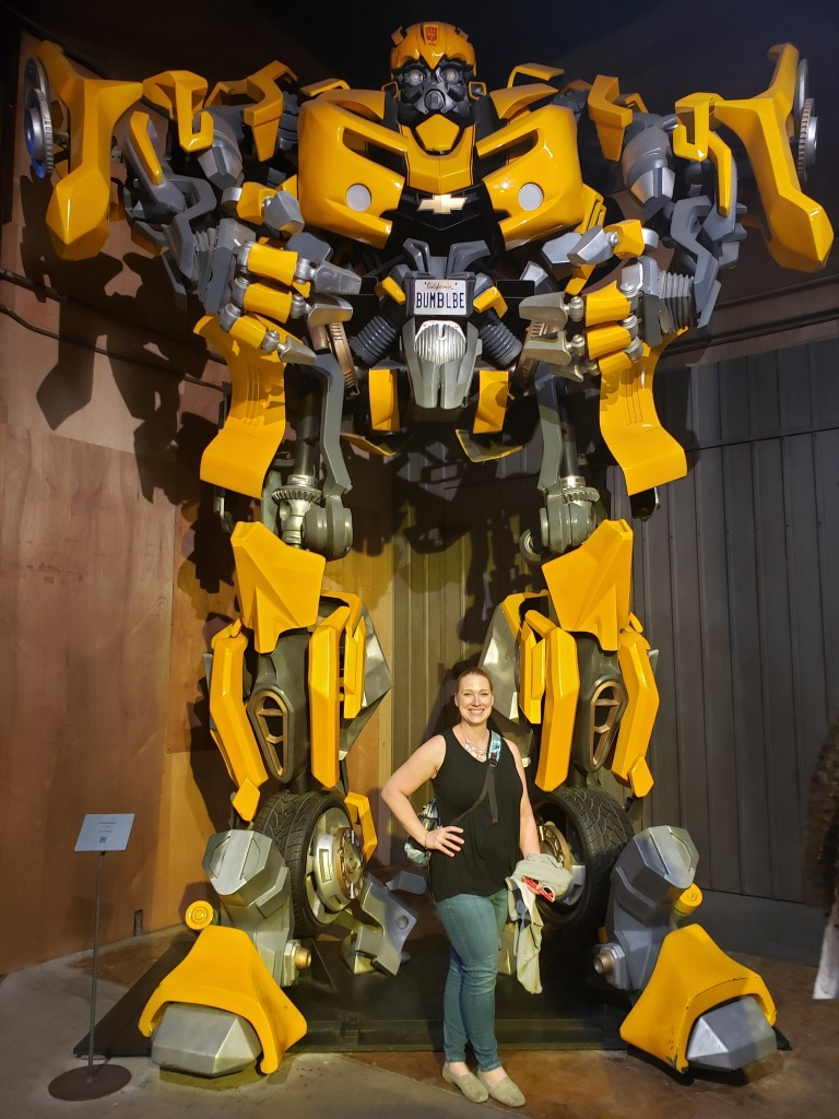 Bumblebee Transformers movie prop
