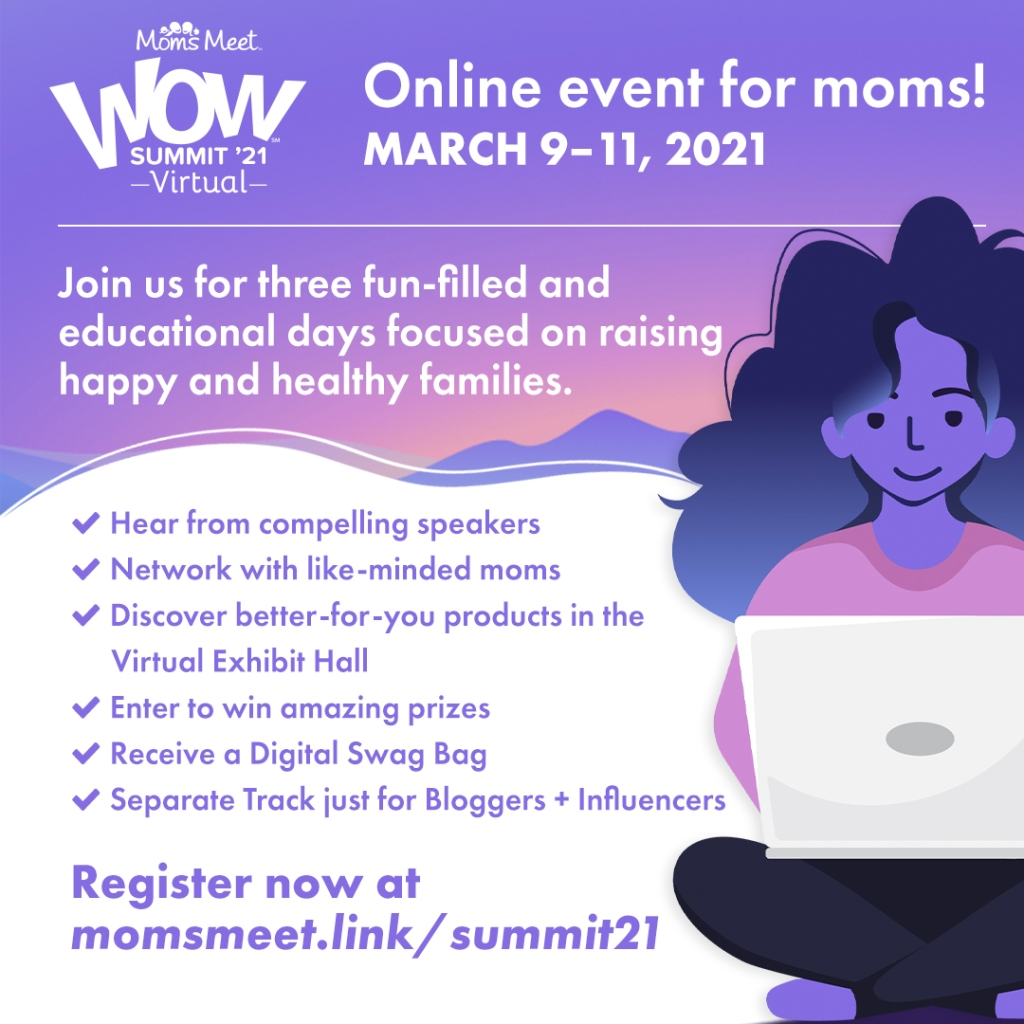Moms Meet virtual wow summit