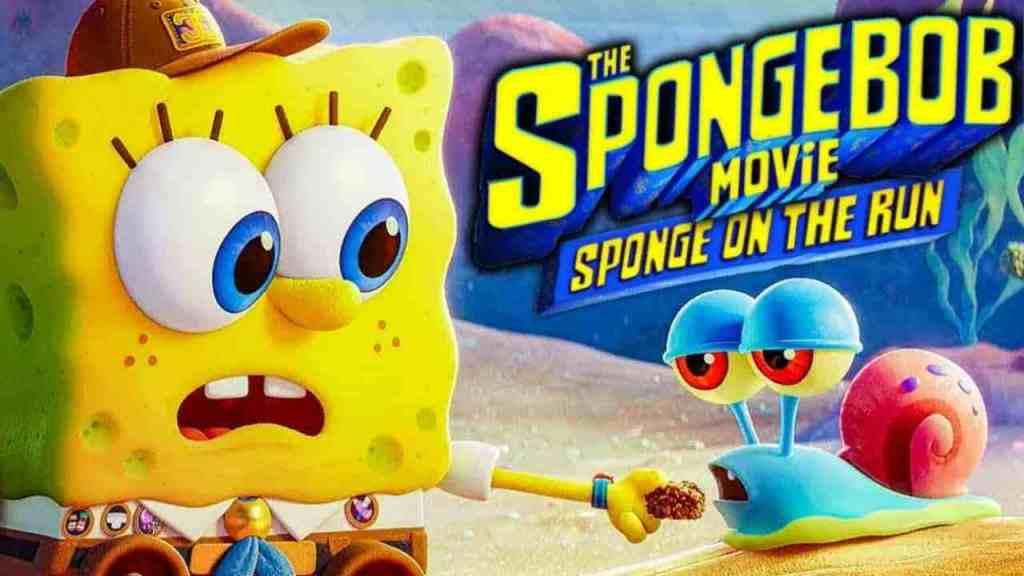 SpongeBob Movie Sponge on the Run