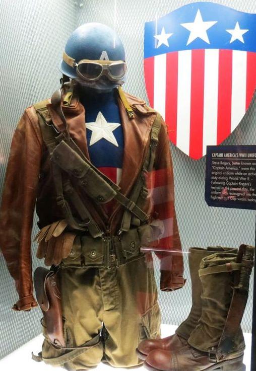 ww2 captain america costume