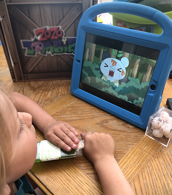 watching ipad and limiting screen time