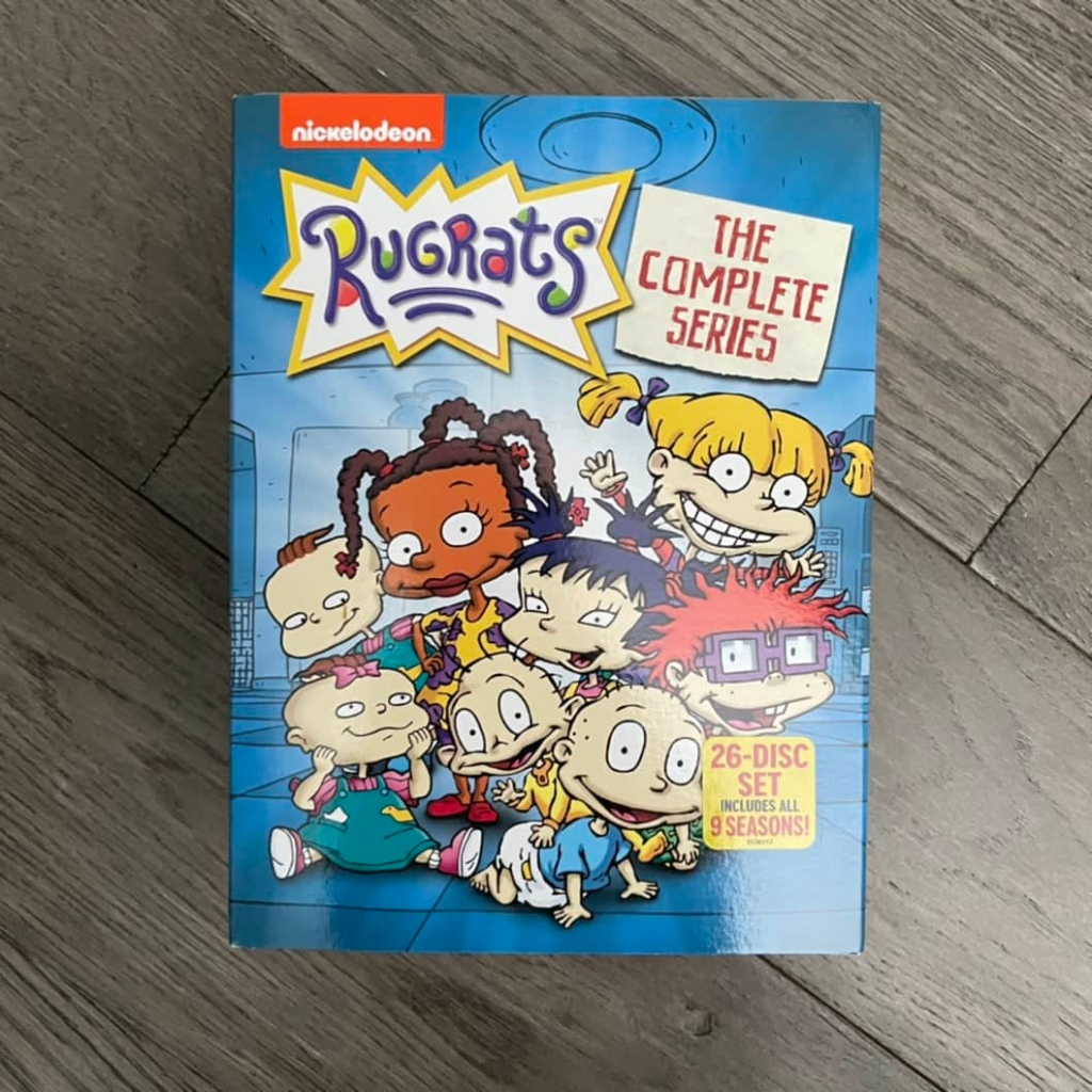 rugrats the complete series on DVD