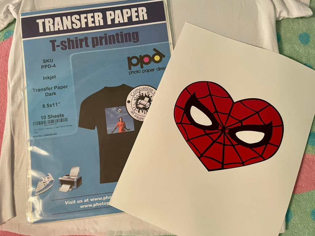 How to make a Mary Jane cosplay with iron-on paper