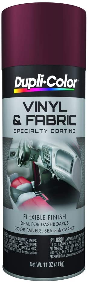 changing the color of vinyl or leather with spray paint