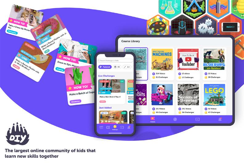 DIY website for kids