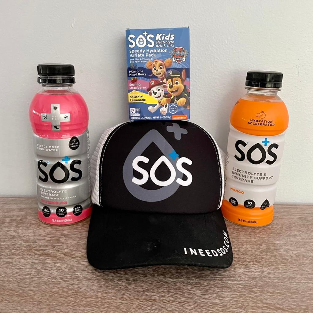 sos hydration electrolyte drink mix
